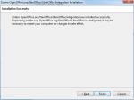 Krok czwarty instalacji rozszerzenia LibreOffice do współpracy z Zotero. Ekran informujący o poprawnym zakończeniu instalacji