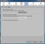 Przycisk służący doponownego uruchomienia asystenta instalacji rozszerzenia doLibreOffice znajduje się woknie ustawień Zotero, wkarcie Cytowanie.
