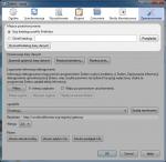 Opcje dotyczące umiejscowienia katalogu zawierającego konfigurację Zotero znajdują się wkarcie Zaawansowane okna ustawień programu