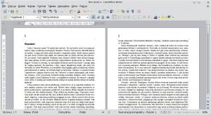 Przykładowy tekst powstawieniu tytułów rozdziałów. Nastronach ztytułami nadal znajdują się numery stron.