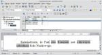 Okno programu Writer zawierające tekst zaświadczenia dla mężczyzny