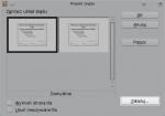Okno Projekt slajdu, zaznaczono przycisk Załaduj w prawym górnym rogu