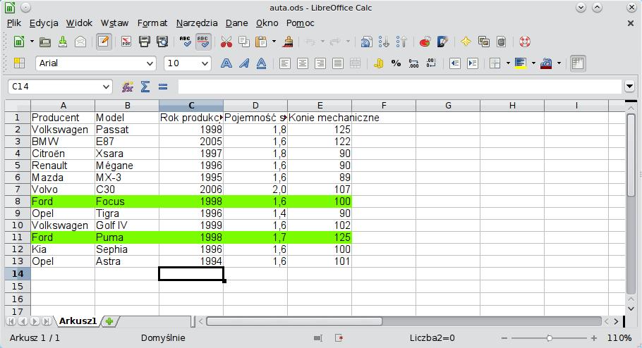 Formatowanie Warunkowe Przepis Na Libreoffice Blog O Tym