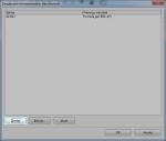 Okno zarządzania zestawami reguł formatowania warunkowego w LibreOffice 4.0.0