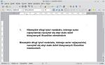 Okno programu Writer zawierające dwa identycznie brzmiące akapity. Drugi z nich ma zaaplikowany styl upodabniający go do pierwszego.