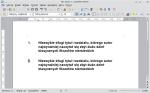 Okno programu Writer zawierające dwa identycznie brzmiące akapity. Oba wyglądają identycznie, chociaż tylko jeden z nich ma zaaplikowany prawdziwy styl tytułów rozdziałów.