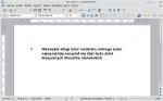 Okno programu Writer przedstawiające dokument z bardzo długim tytułem rozdziału