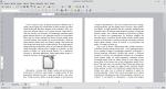 Okno programu Writer przedstawiające tekst i obraz. Obraz został wyśrodkowany. Po jego bokach nie znajduje się tekst.