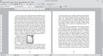 Okno programu Writer przedstawiające tekst i obraz. Obraz został wyśrodkowany. Tekst znajduje się tylko po jego lewej stronie.