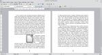 Okno programu Writer przedstawiające tekst i obraz. Obraz został wyśrodkowany. Tekst znajduje się tylko po jego prawej stronie.