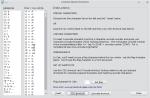 Główne okno rozszerzenia Compose Special Character. Lista fraz znajduje się po lewej, przyciski konfiguracyjne na dole