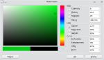 Okno wyboru koloru