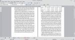 Dwie strony tekstu. U dołu lewej znajduje się duży odstęp.