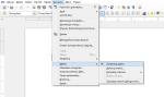 Umiejscowienie pozycji uruchamiającej tryb rejestrowania makr wmenu programu LibreOffice Writer