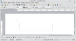 Okno programu Writer — tworzenie pudełka