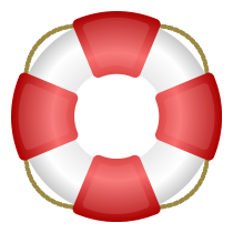 "Podręczna pomoc - thumbnail (icon: ""Lifesaver"" by barretr; released as public domain; URL: http://openclipart.org/detail/3332/lifesaver-by-barretr-3332 )"
