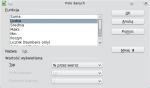 """Okno konfiguracji pola w obszarze danych. Z listy wybrano Liczba, w części """"Więcej"""" jako Typ wybrano """"% przez wiersz"""""""