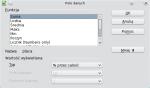 """Okno konfiguracji pola w obszarze danych. Z listy wybrano Suma, w części """"Więcej"""" jako Typ wybrano """"% przez całość"""""""