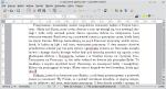 Okno modyfikacji dokumentu głównego. Wstawiony odsyłacz pokazuje poprawny numer strony w dokumencie.
