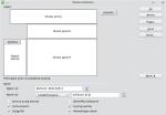 """Okno konfiguracji tabeli przestawnej. Przycisk """"etykieta"""" umieszczono na obszarze wierszy"""