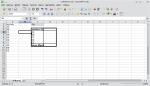 Okno programu Calc pokazujące tabelę przestawną z wykazem unikatowych wartości